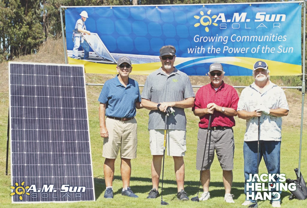 Jack's Helping Hand Golf Tournament - A.M. Sun Solar